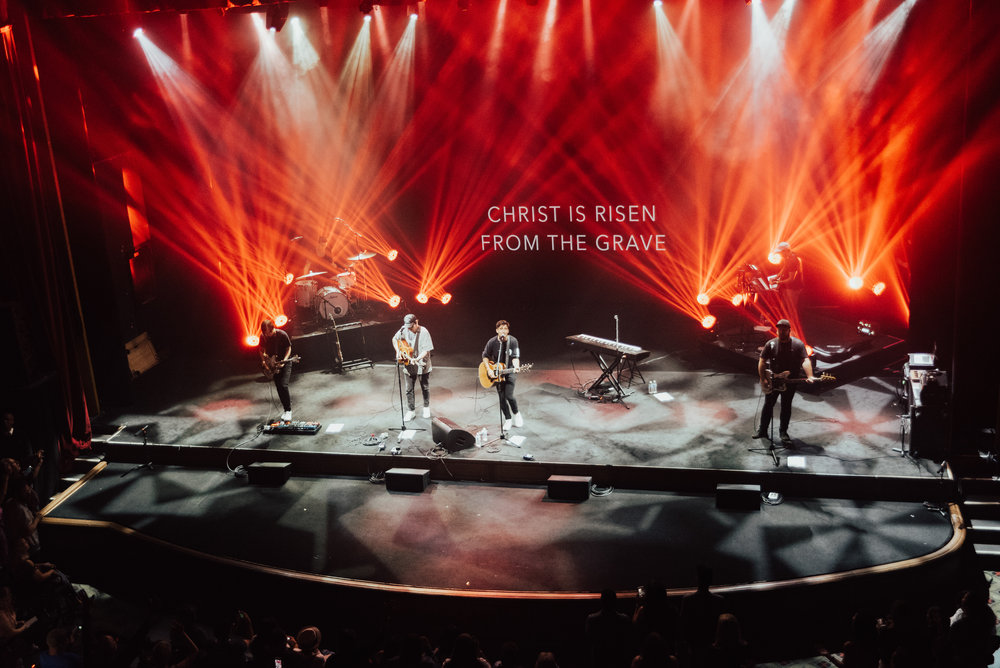 Phil Wickham CD release show Ace Theater LA  2018