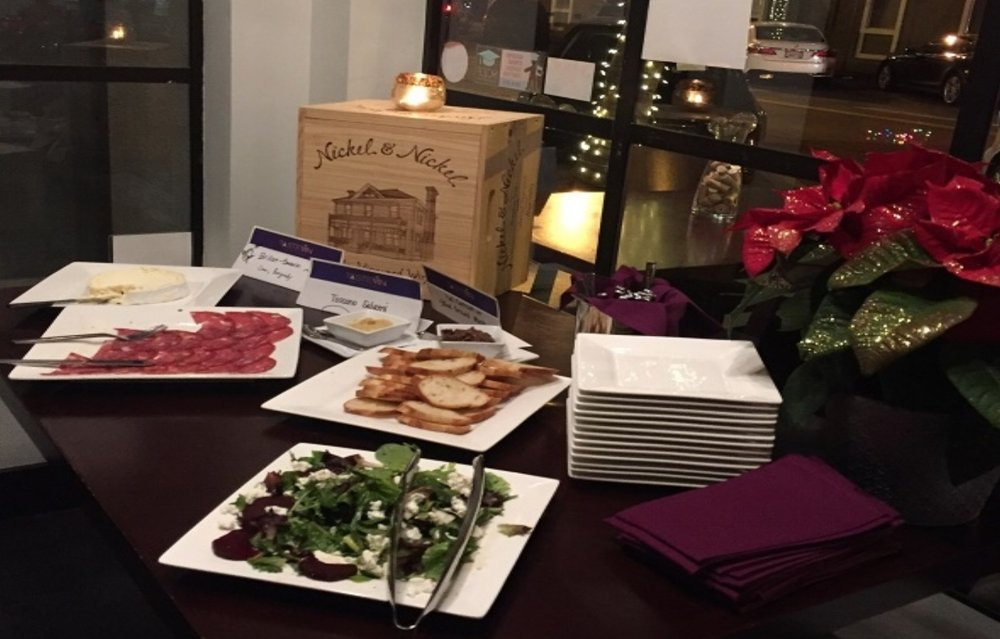 holiday party display of food.jpg