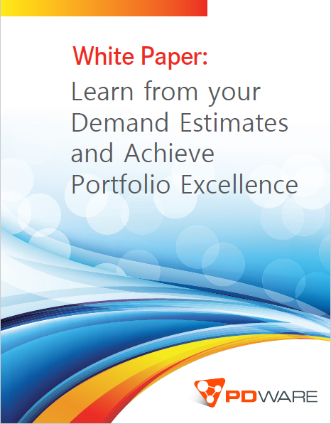 Download our white paper on Estimating Demand and Achieve Portfolio Excellence