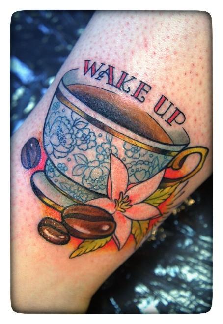 Coffe Cup tatt 1