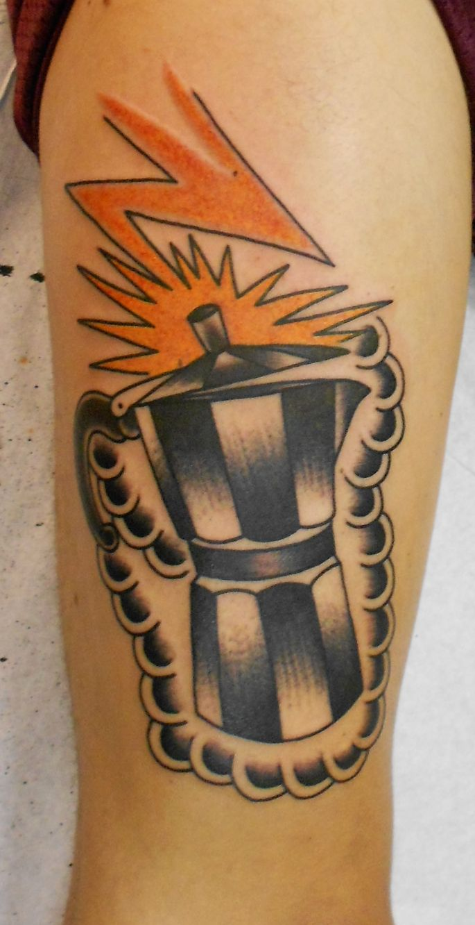 moka pot tattoo 2