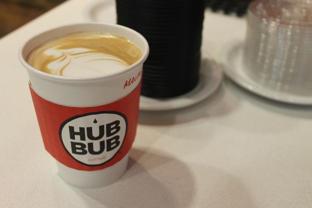 HubBub to go cup