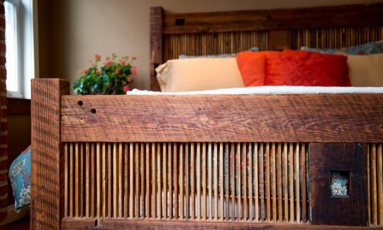 Sandtown Millworks heathers bed