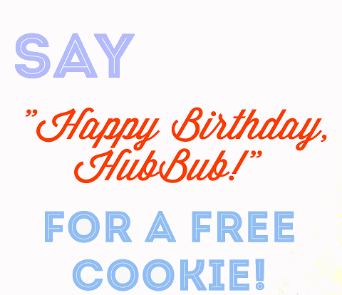 spruce street birthday cookie