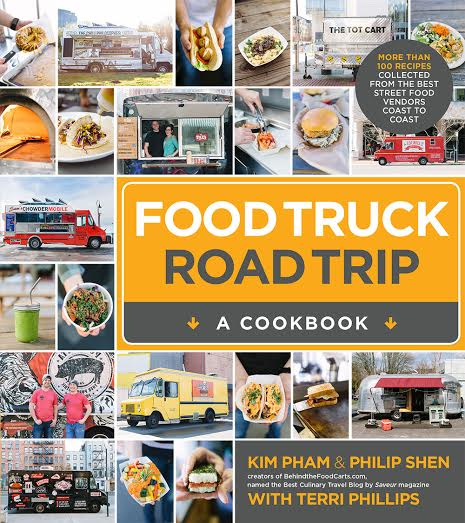 Behind the Food Trucks Cookbook Cover