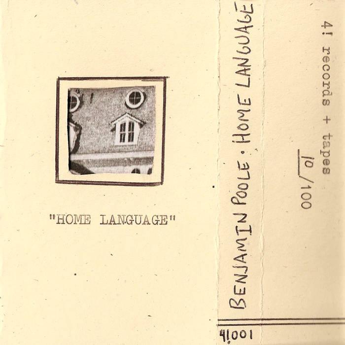 Benjamin Poole record cover