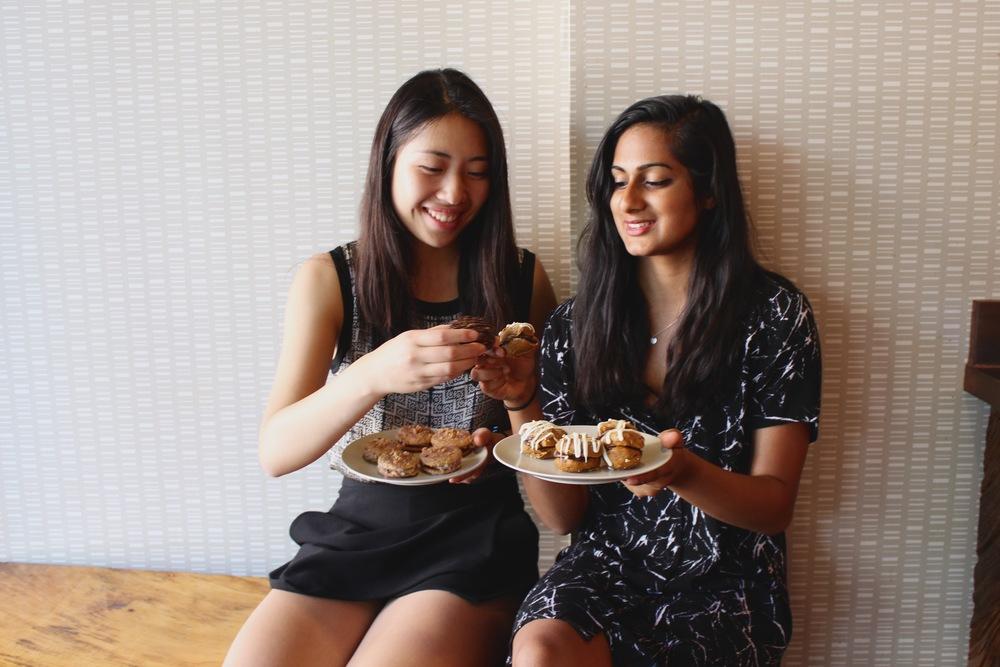 NOMsense founders Alina Wong and Roopa Shankar
