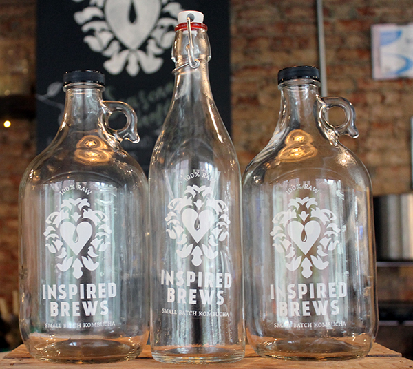 Inspired Brews does growler fills! We love it.