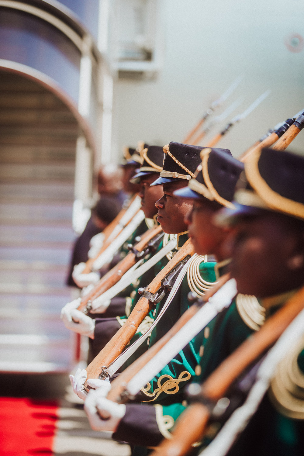 South African welcome for the Deputy Prime Minister of Belgium