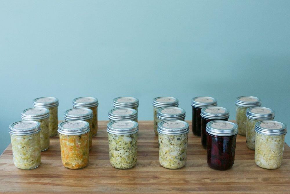 Vegetable Ferments -