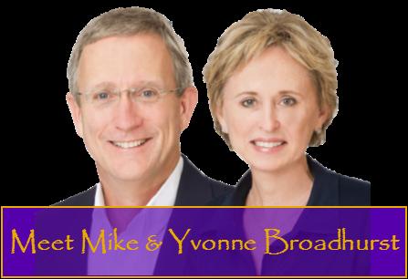 Mike Broadhurst Yvonne Broadhurst