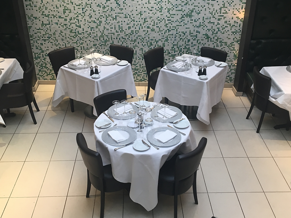 Ascot chairs at Little Italy restaurant Soho by DeFrae Contract Furniture 3.png