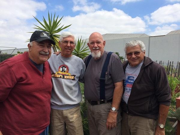 L-R: Dave Romeri, Larry Vollman, Chuck Habib, and Ed Russo