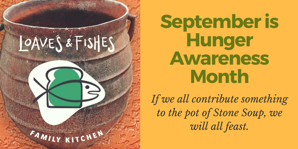 Celebrate Hunger Awareness Month with Loaves & Fishes