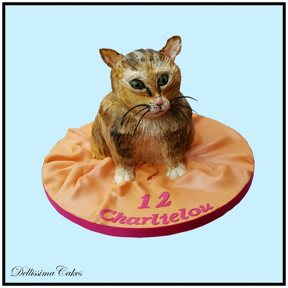 Copy of Cat Birthday Cake