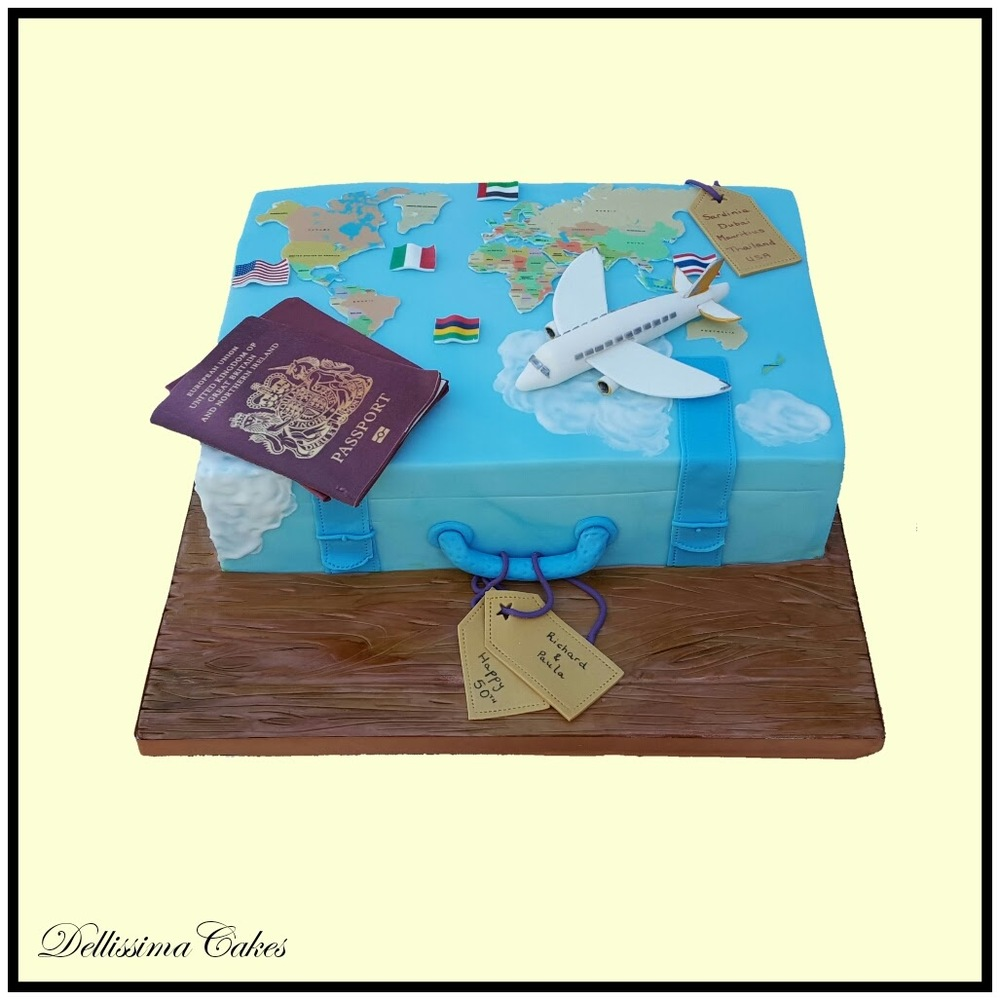 Copy of Baggage Novelty Cake