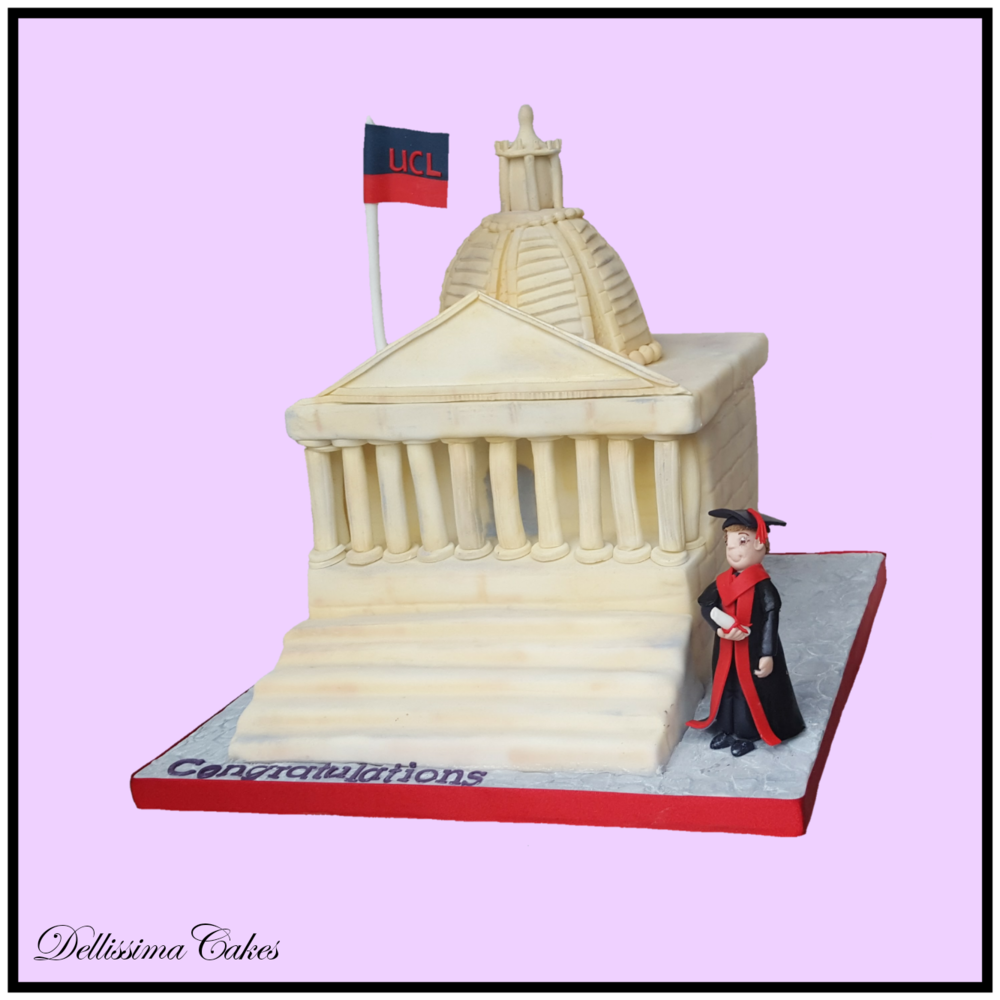 Copy of UCL Graduation Cake