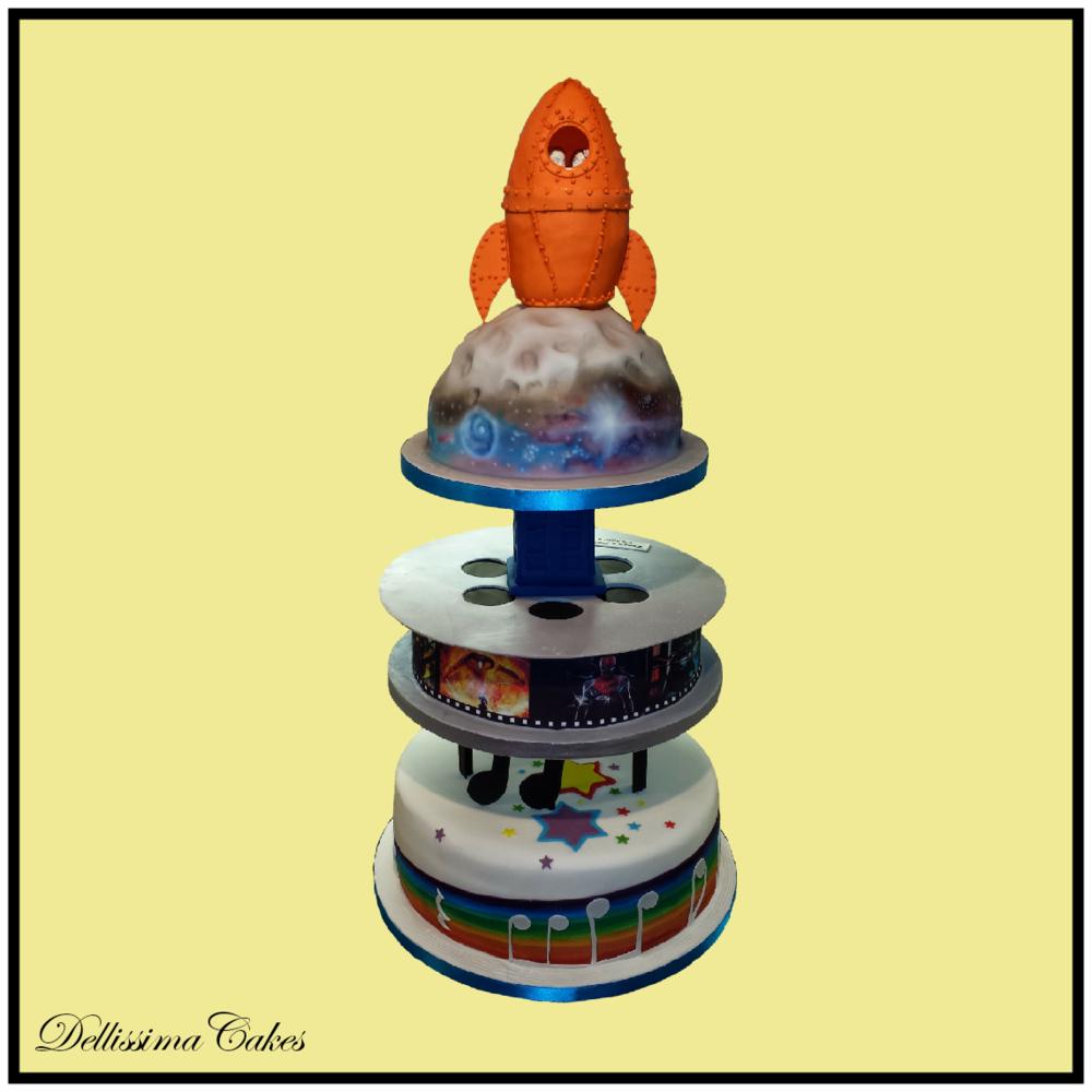 Novelty Wedding Cake — Dellissima Cakes