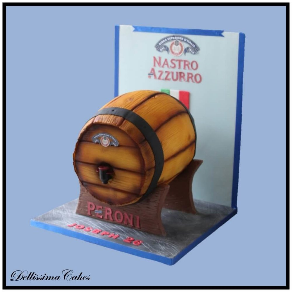 Copy of Beer Barrel Birthday Cake