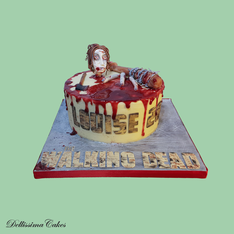 The Walking Dead Birthday Cake Dellissima Cakes