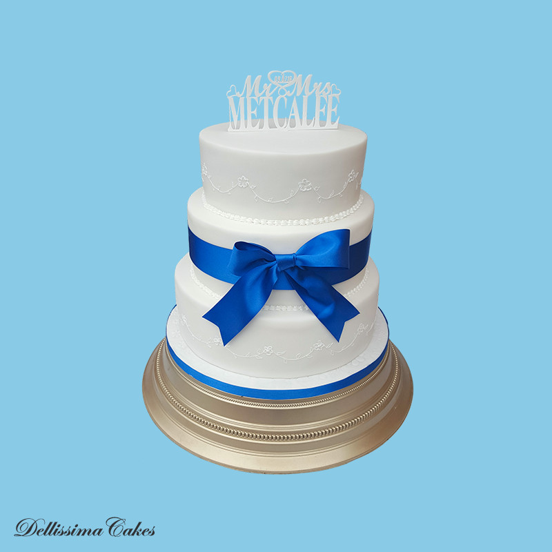 Royal Icing Wedding Cake