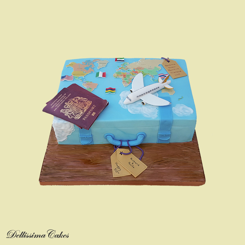 Baggage Novelty Cake