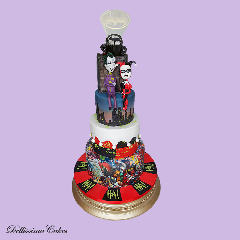 Mad Love Wedding Cake