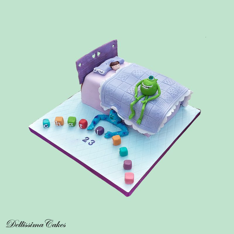 Monster's Inc Cake