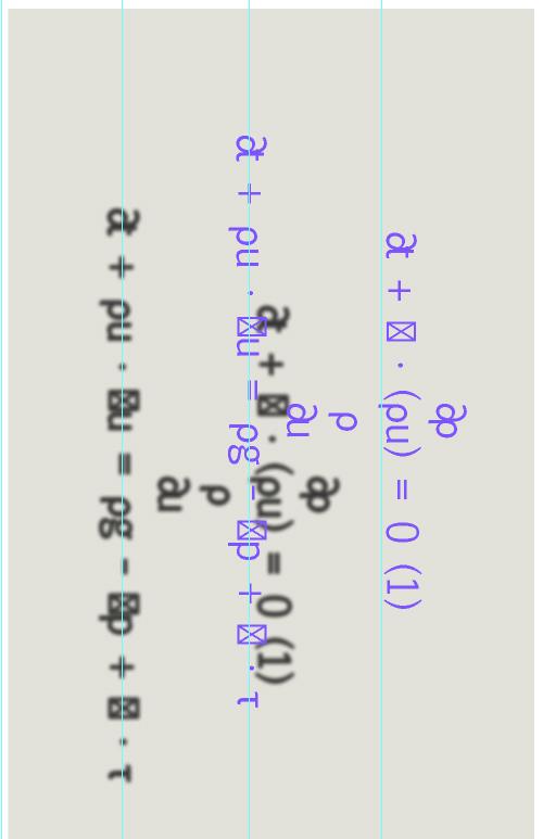 Quicksand formula, equation calculating the speed of sinking into quicksand, digital image, 2015