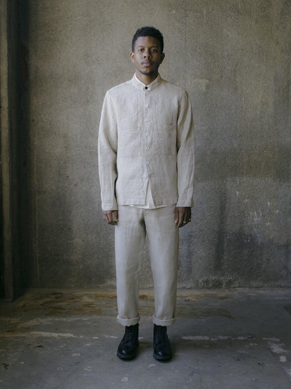 evan-kinori-french-field-shirt-natural-linen-herringbone