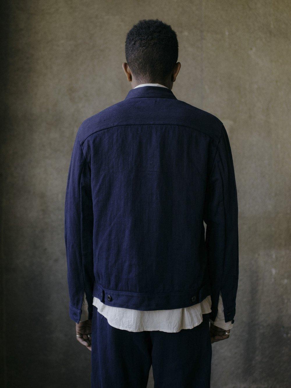 evan-kinori-pleated-jacket-french-blue-hemp-twill-5