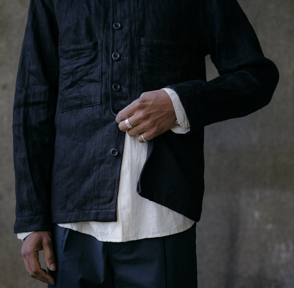 evan-kinori-french-field-shirt-black-hemp-herringbone-5