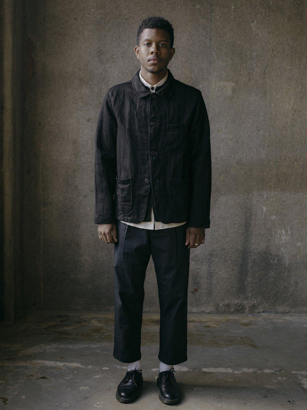 evan-kinori-three-pocket-jacket-black-hemp-herringbone