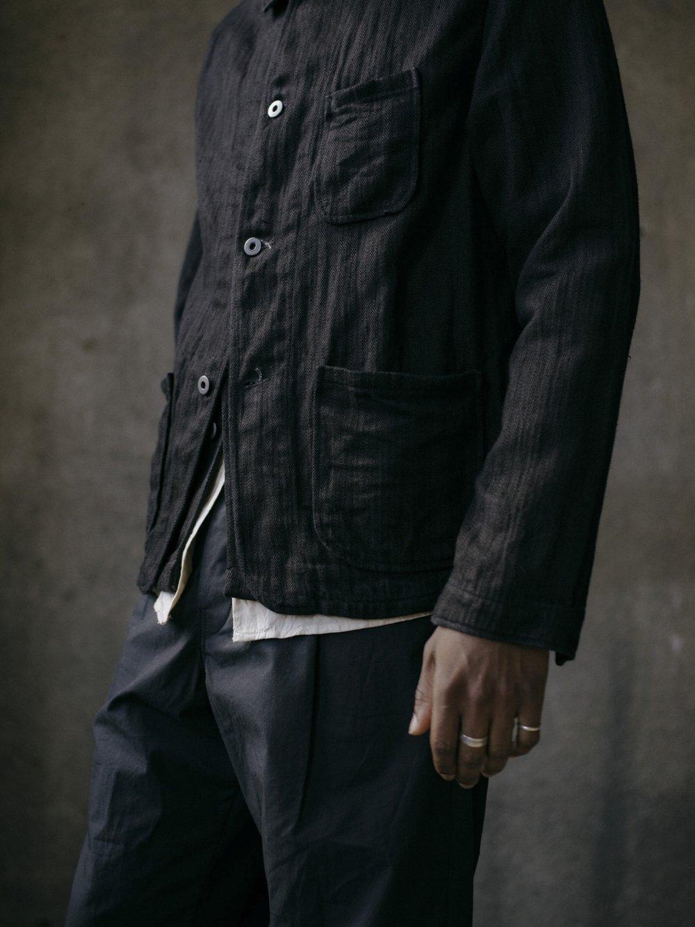 evan-kinori-three-pocket-jacket-black-hemp-herringbone-2