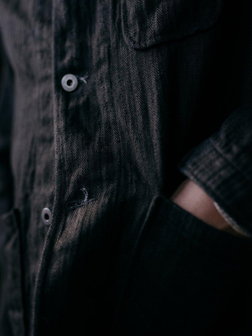 evan-kinori-three-pocket-jacket-black-hemp-herringbone-5