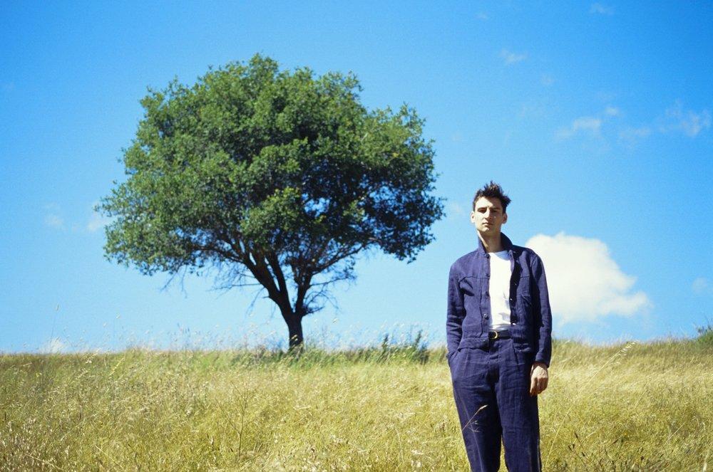 evan-kinori-allen-danze-pleated-jacket-blue-hemp-twill