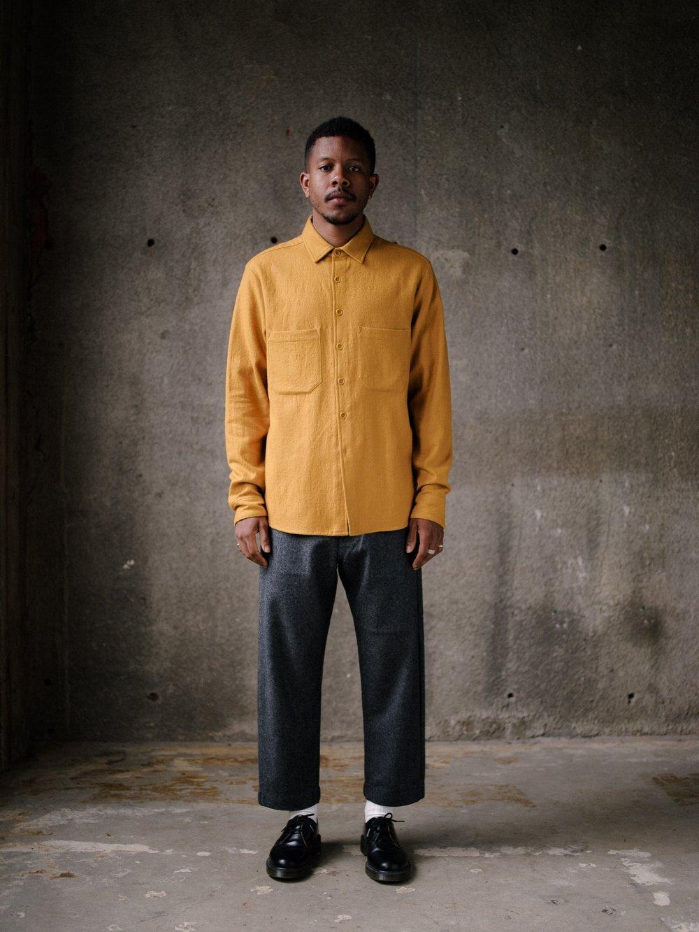 evan-kinori-two-pocket-shirt-marigold-wool-cotton-1