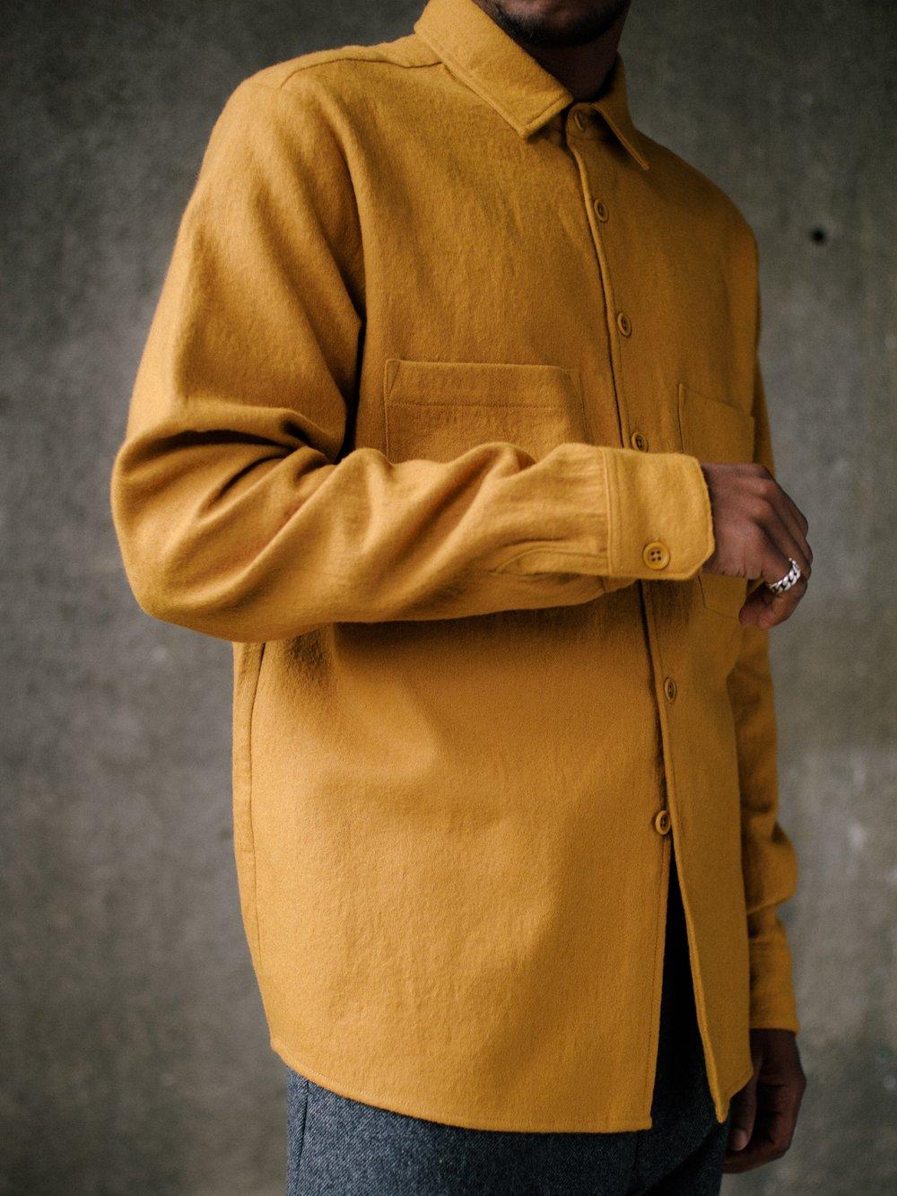 evan-kinori-two-pocket-shirt-marigold-wool-cotton-3