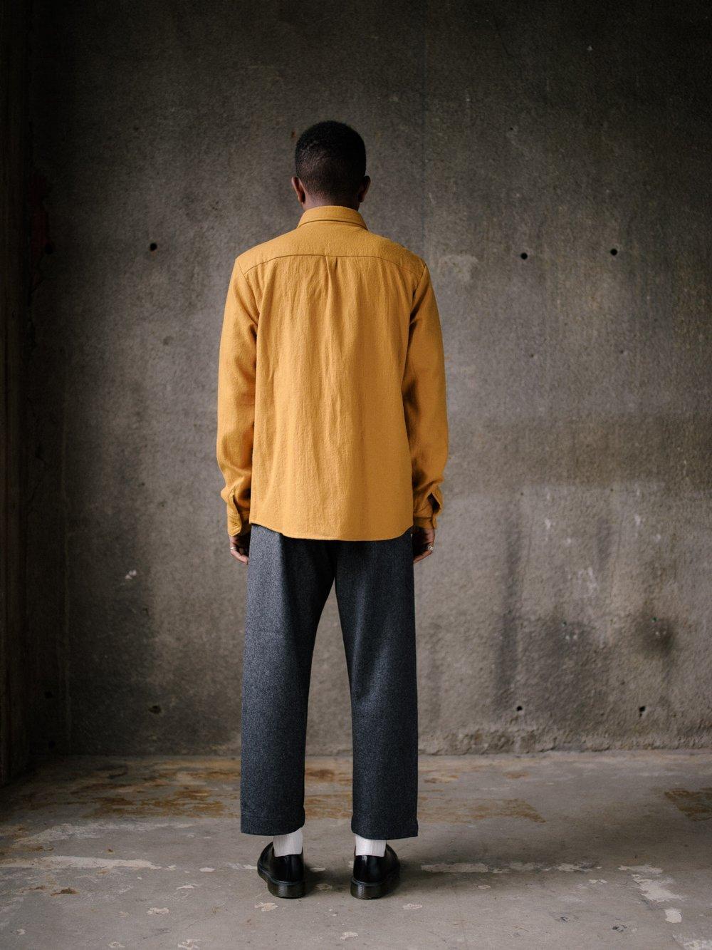evan-kinori-two-pocket-shirt-marigold-wool-cotton-4
