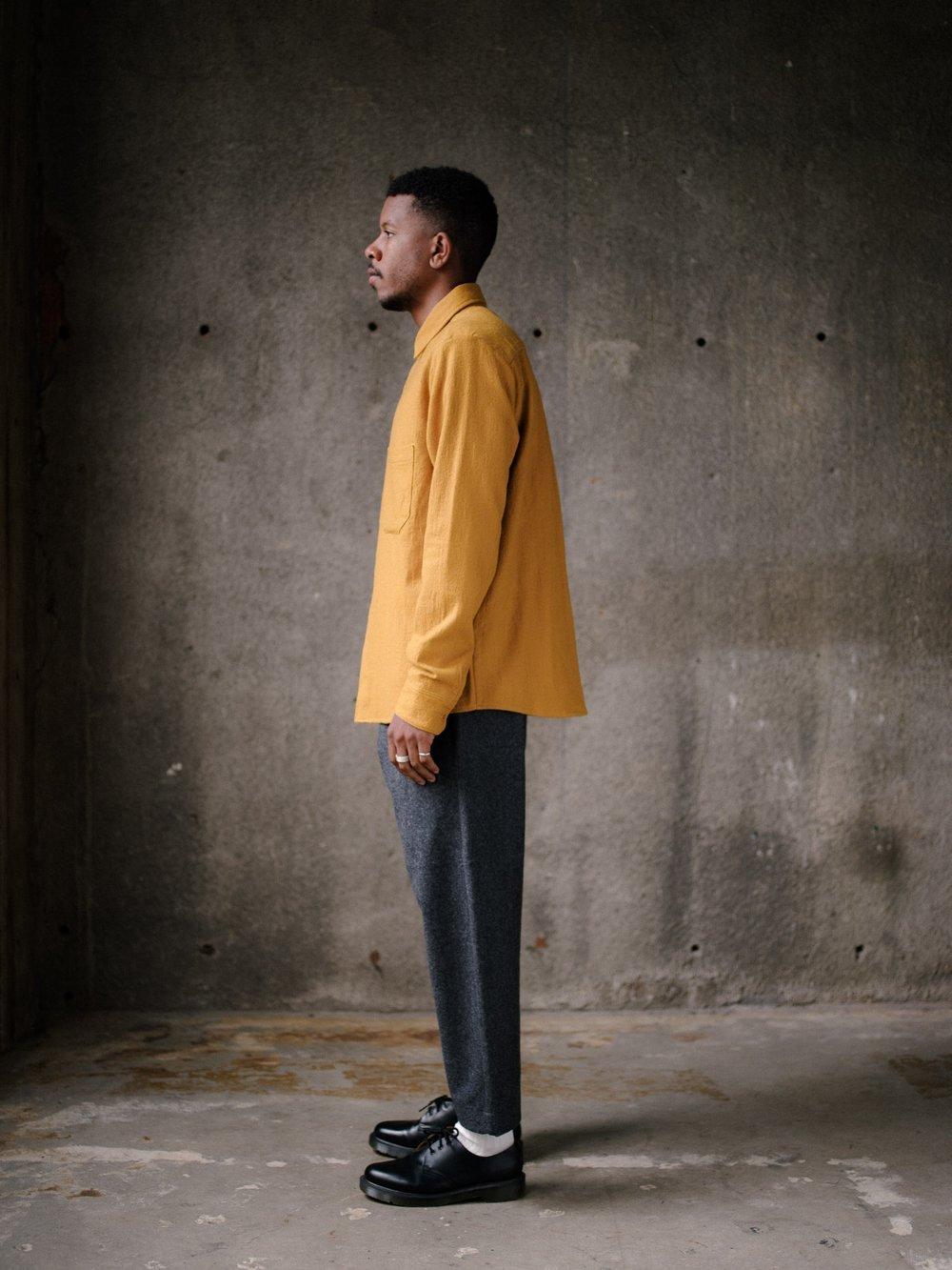 evan-kinori-two-pocket-shirt-marigold-wool-cotton-5