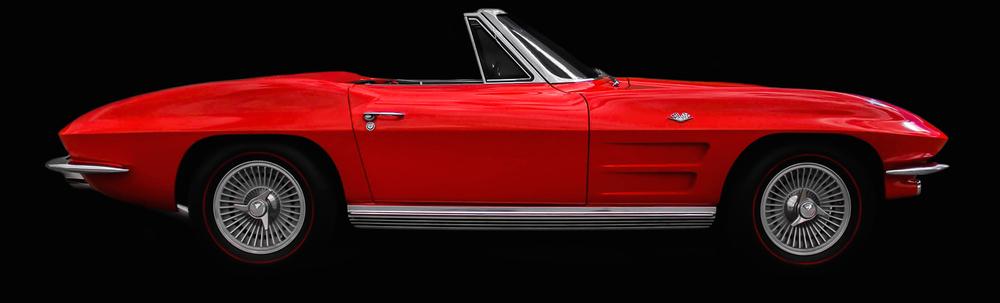 Voiture-ancienne-corvette-stingray-1964