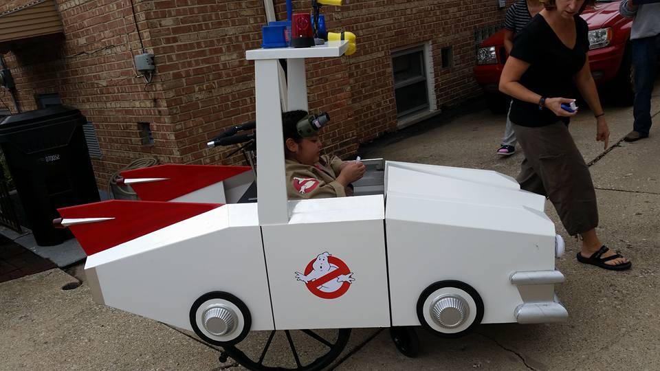 Melinda Ghostbuster Car.jpg