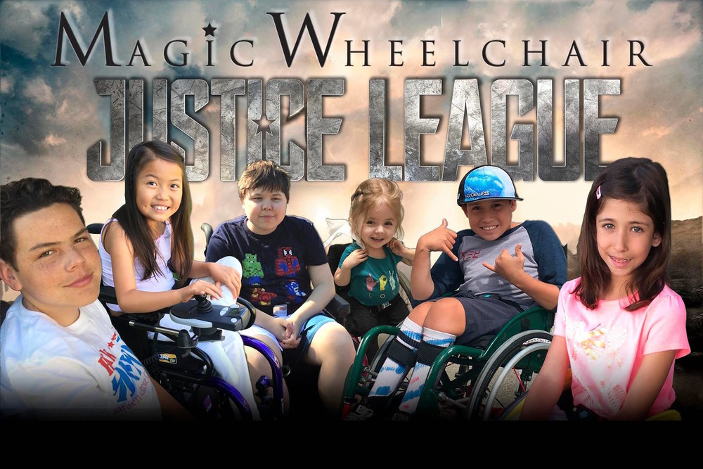 The Magic Wheelchair Justice League