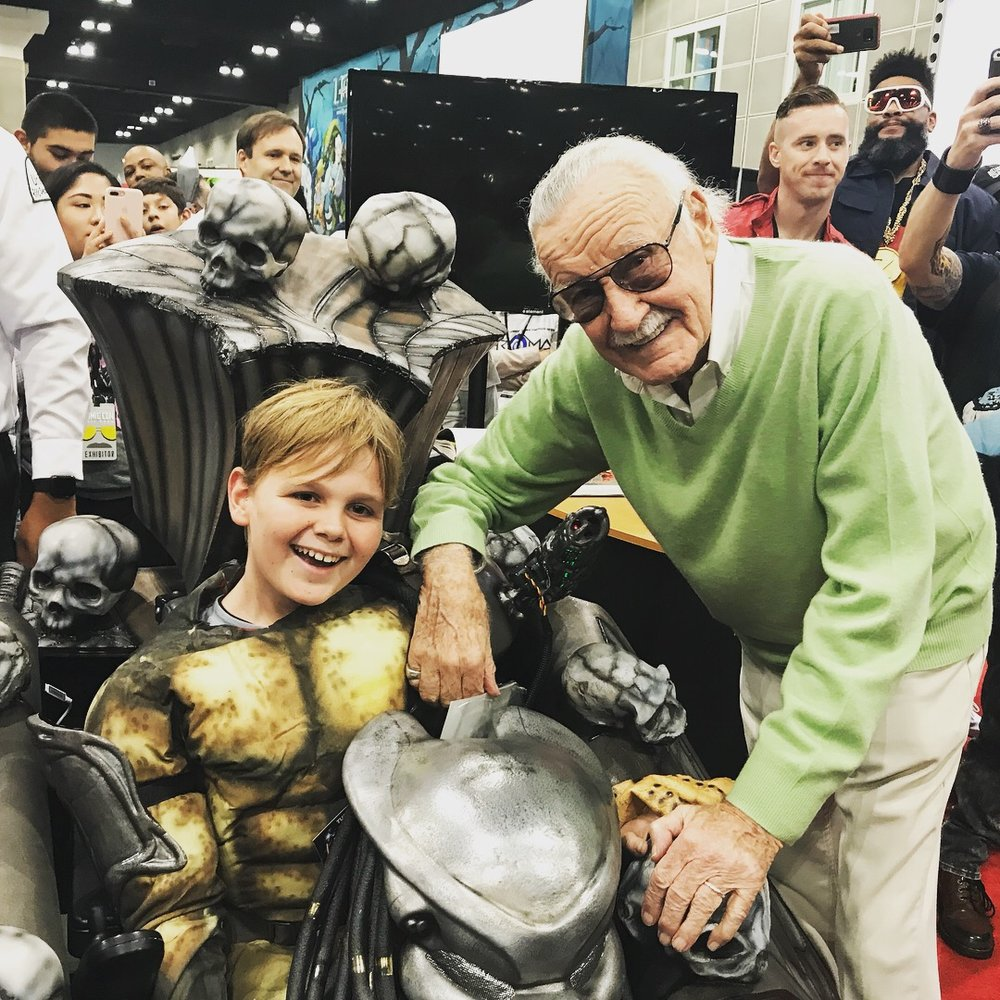 Turning Heroes into Heroes - The Real Stan Lee
