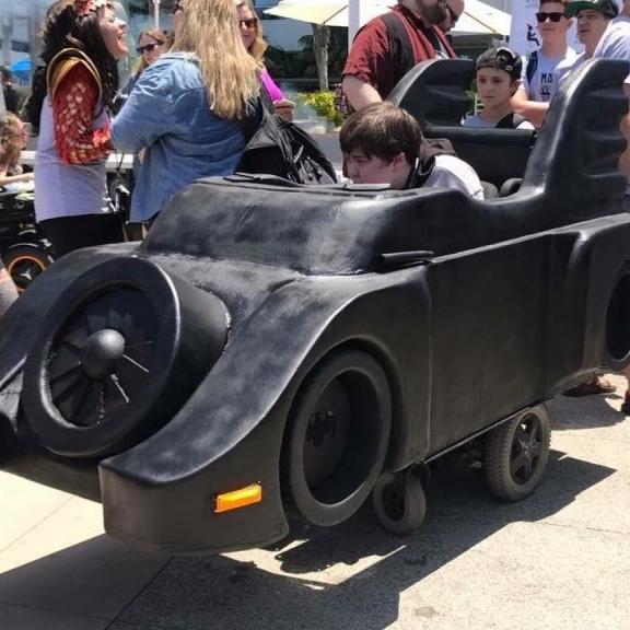 Popular Mechanics - DIYers Making Cool Wheelchair Costumes