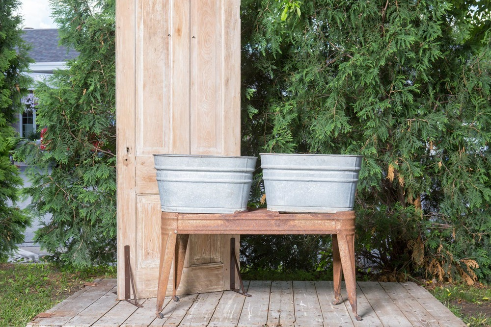 Galvanized Tubs 25-