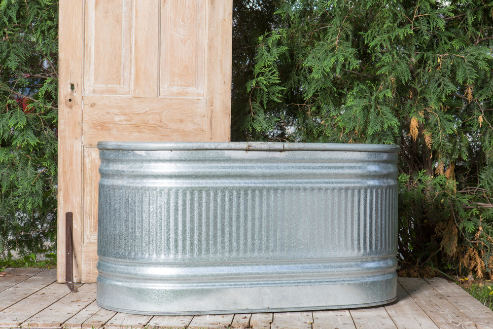Galvanized Trough 20-