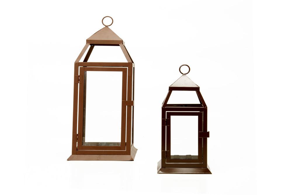 Brown Lantern lg 10- sm 5-