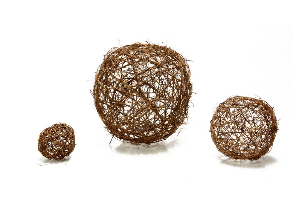 Grapevine Sphere (5-13 dia) .75, 1.75, 1.25