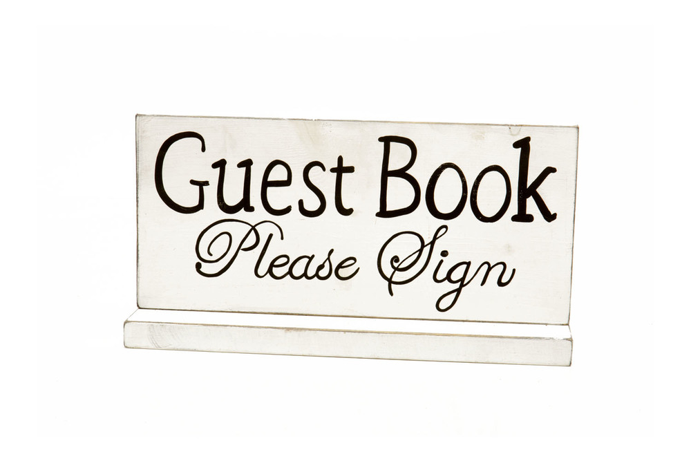 Guest Book Sign 5-